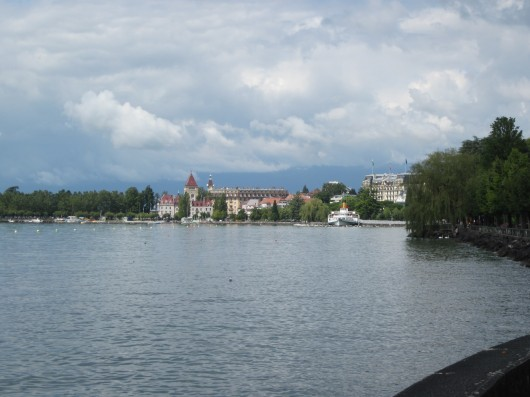 Genfer See; Lausanne