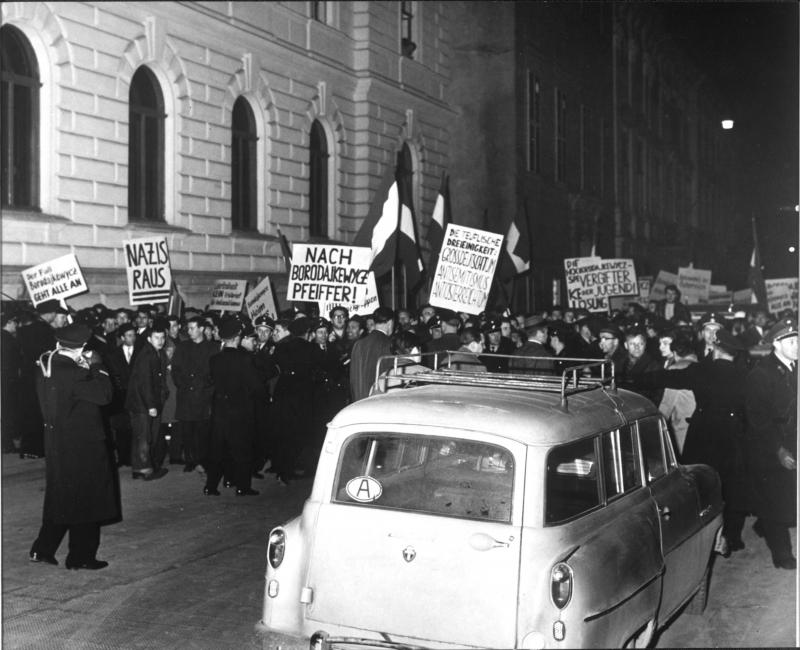 Borodajkewycz-Demonstrationen in Wien