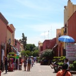 Fußgängerzone in Querétaro