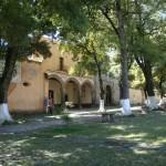 Die malerische alte Klosteranlage in Tlaxcala