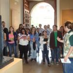 Die Kursteilnehmer mit dem Kollegen G. Taber in der ägyptischen Sektion des Museo de las Culturas.