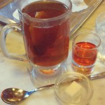 Tea and run in Viennese coffee house