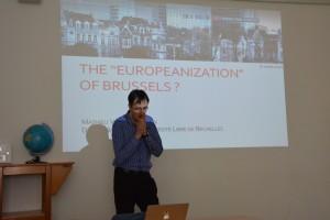 Vortrag von Prof. Mathieu Van Criekingen, Universität Brüssel