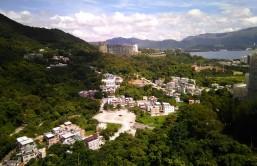 Ausblick vom Studentenwohnheim