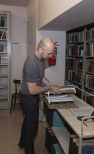 Michal Bušek, Bibliothekar und Provenienzforscher, © JMP