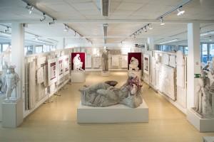 Die Heiligen Hallen der Abgusssammlung. Foto: Kristina Klein/IKA Wien