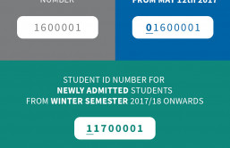 Student ID number change