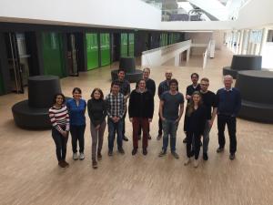 Leiden Meeting, 24. März 2017. TransQST Partner, die Verfasserin des Beitrag als dritte von rechts.