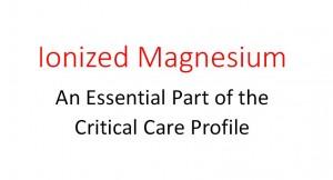 Ionized Magnesium