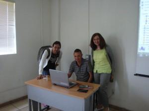 P. Lopez (ENAH), M. Ornelas (Léon), I. Hein