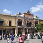Der Stadtplatz in Léon