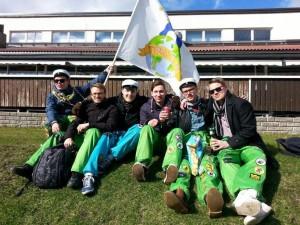 : Meine finnischen Studienkollegen und ich wurden im Laufe des Jahres sehr gute Freunde.