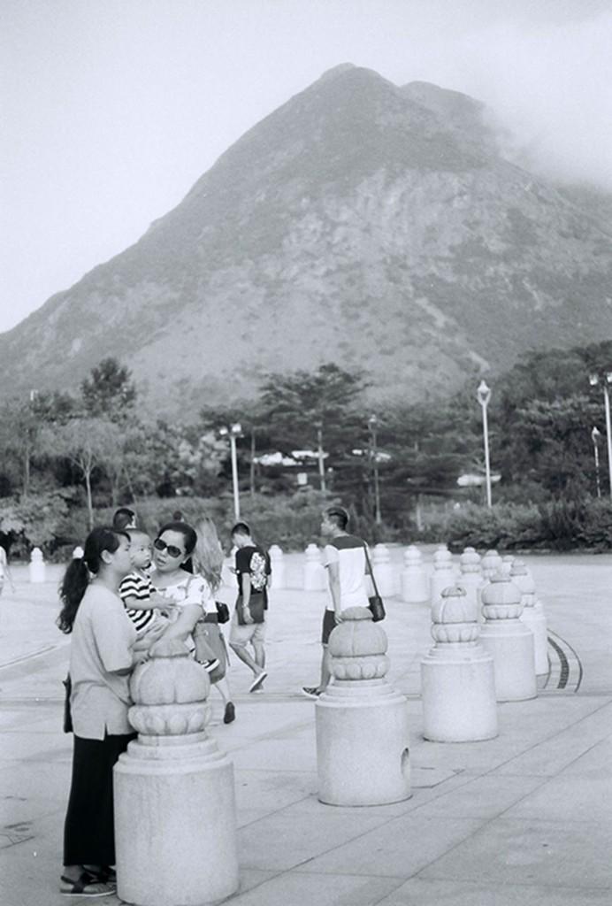 Lantau Island, die grüne Lunge Hong Kongs mit dem Lantau Peak (934m), die gute und frische Luft kann man während den Wanderungen auf dieser ruhigen Insel genießen