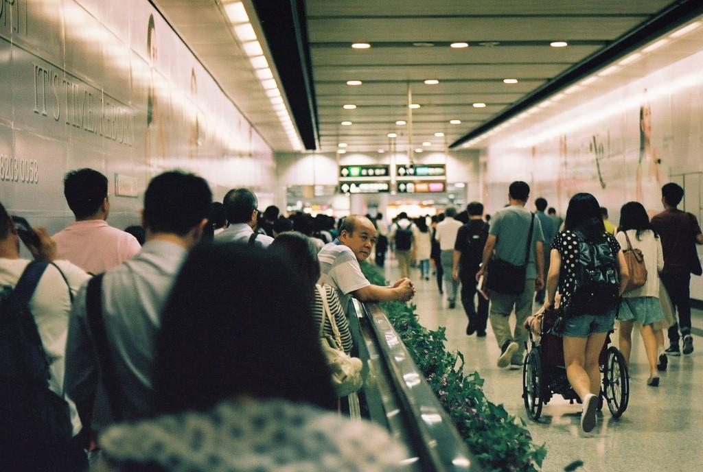 MTR Hong Kong, Porträtserie im hervorragendem U-Bahnnetz Hong Kongs, auf meiner fast täglichen eineinhalb-stündigen Reise zur Chinese University of Hong Kong