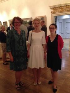 Von links nach rechts: Helen Valentine, Anna Frasca-Rath, Annette Wickham (© Anna Sophie Frasca-Rath)
