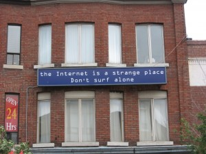 Internetcafé, Toronto, Kanada. (© Philipp Budka)