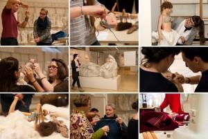 Wirken und Werken: Experimentelle Archäologie mal anders. (© Kristina Klein/IKA Wien)
