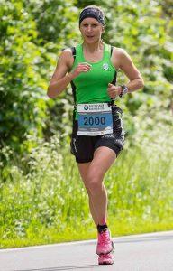 Veronika Limberger beim Vienna City Marathon (© Rainer Mirau)
