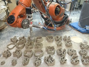 Clay Robotics von Guan Lee (© Vicente Soler)