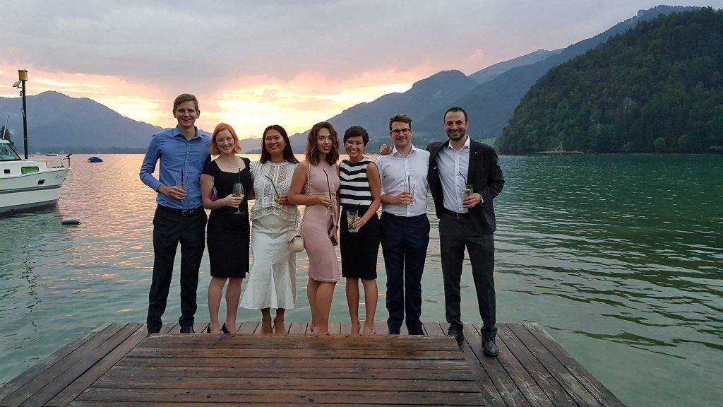 Gruppe von TeilnehmerInnen der Sommerhochschule (© Zakar Stepanyan)