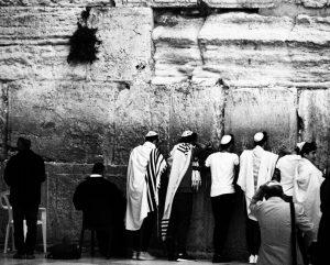 An der Klagemauer (© Regina Maria Hirsch)