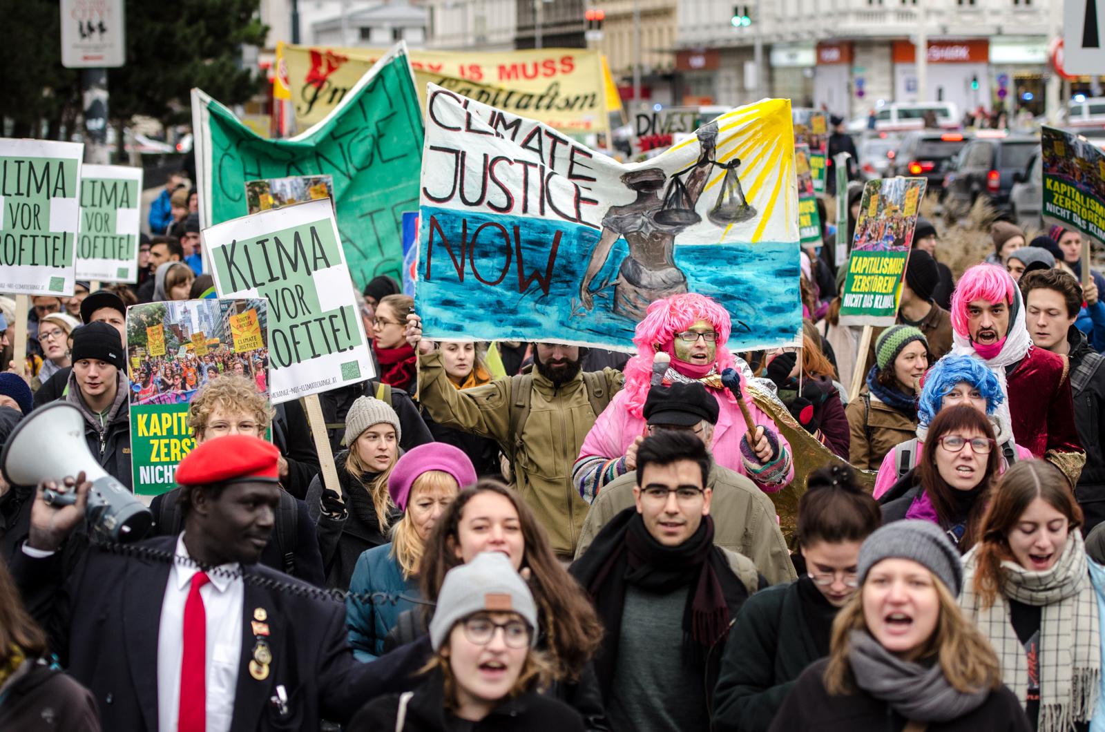 Klima Demo Wien News: Um Das Klima Zu Retten, Brauchen Wir Soziale Bewegungen