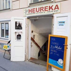 """Der Books4Life Shop im """"Heureka"""" in der Wiener Skodagasse."""
