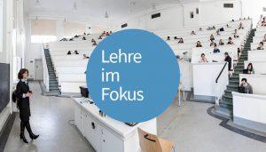 """In der Reihe """"Lehre im Fokus"""" geben Studierende, Lehrende und weitere ExpertInnenFeedback zur Lehre an der Uni Wien"""