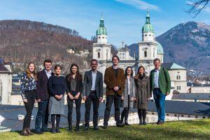 Gruppenfoto mit den TeilnehmerInnen des Moot Court Umweltrecht an der Universität Wien