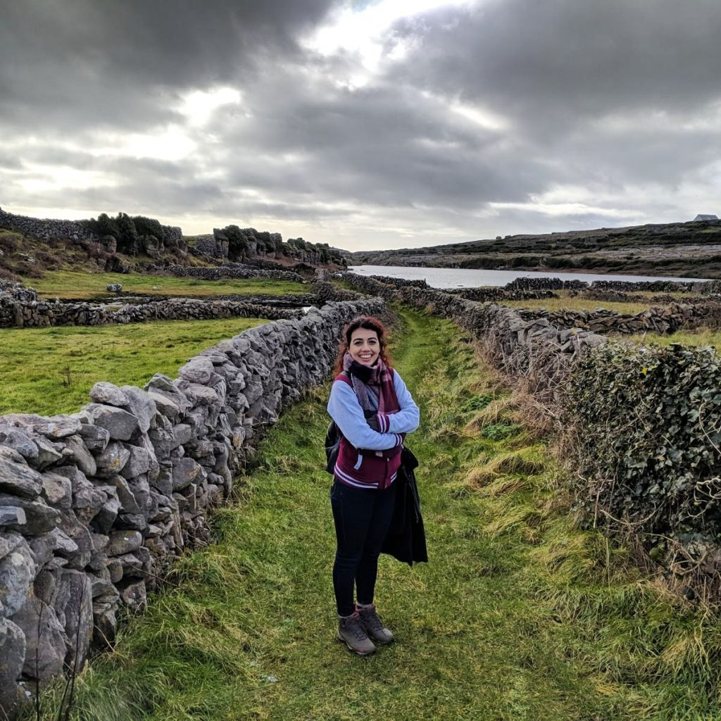 "An Island of Middle Ages; ""Beautiful and typical Irish nature on an magical island."" Piril Atmaca, Erasmus-Studentin an der University of Limerick, Irland"