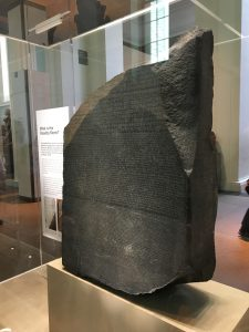 Rosetta Stone im British Museum