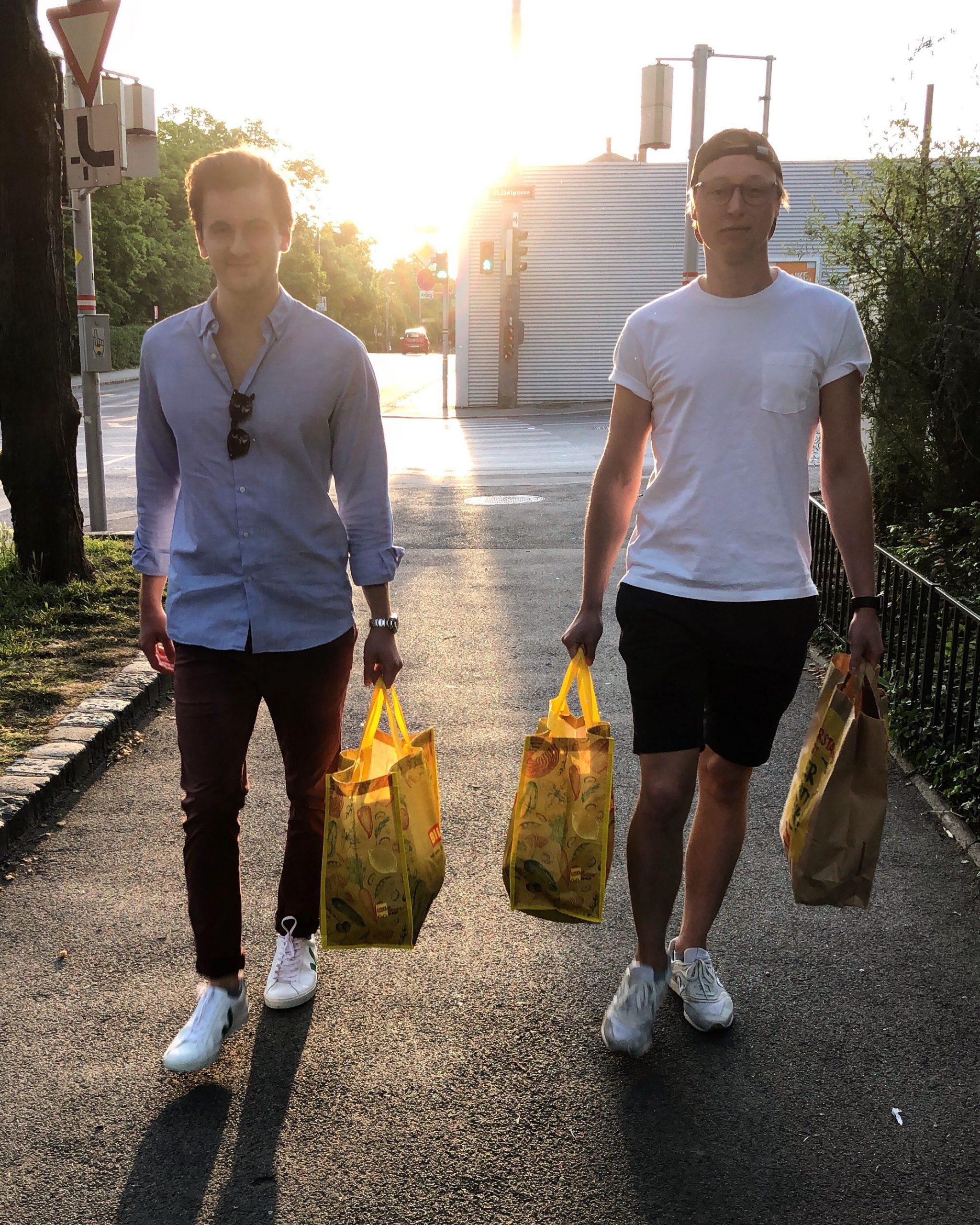 Alex Manz und Clemens Brandstätter