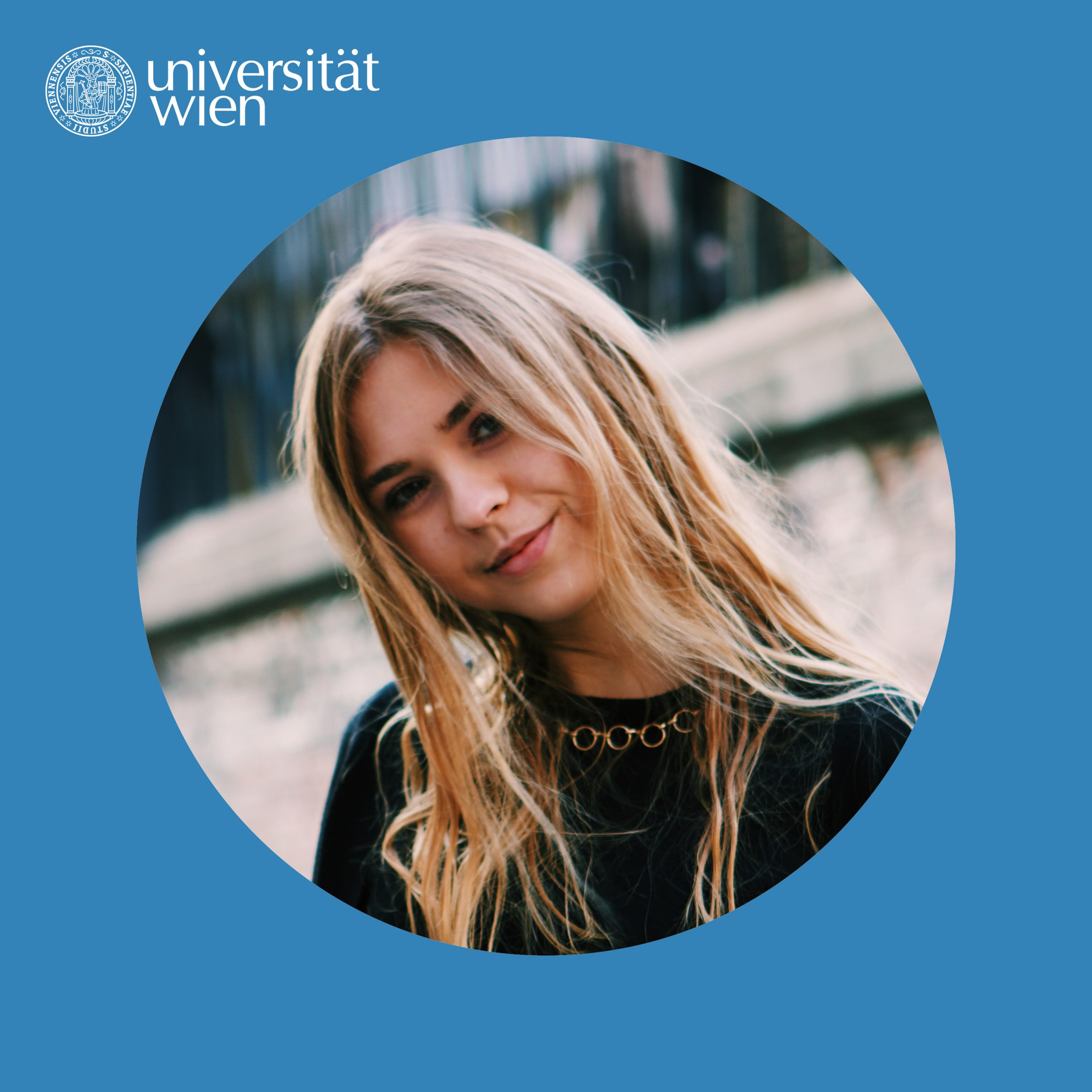 Leonie als Human of univie